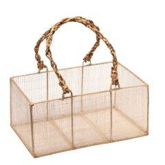 Rafia basket 20x11,5x9cm