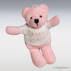 Osita camiseta Baby Girl 10cm, min.6 P.GOLOSO