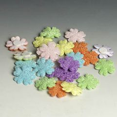 Flowers towel assorted pricex24pcs
