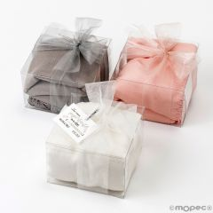 Pashmina piedra, rosa té y marfil,caja adorno min3