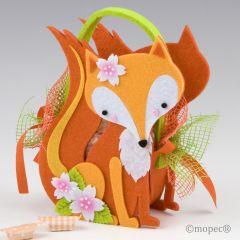 Cestita The Little Fox grande 11caramelos 22cm (incl. asas)*
