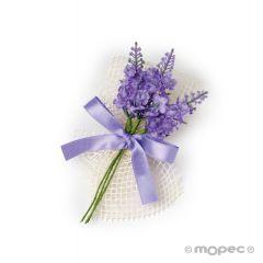 Bouquet flores lavanda 3 ramitas