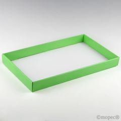 Bandeja lujo charol verde 46x27x4,5cm