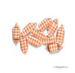 Bonbon de fruits carré orange 1kg