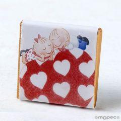 Napolitana Pit&Pita sobre el corazón (cajas aprox.150u.)*