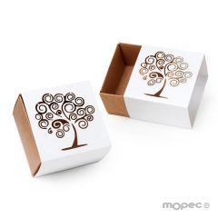 Tree of life squared box 6x4x6cm.