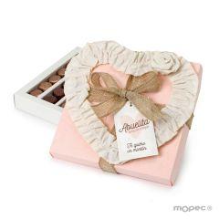 Gift Box 30 chocolates 20x20x3cm.