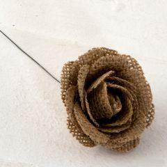 Flor yute 5,5x5,5cm., min.4