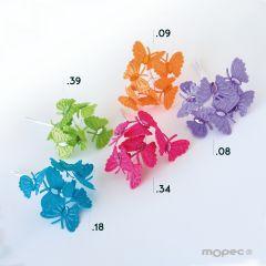 Ramito mariposas  precio x pomo de 6, min.12