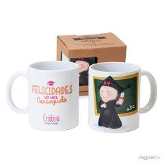 Ceramic mug Pita graduation