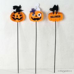 Pic fieltro calabazas de Halloween stdo 30cm. min.9