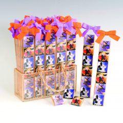 Présentoir 40 boîtes 6 chocolats Halloween Pit&Pita