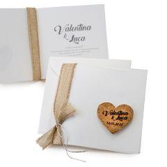 Participación boda+sobre, corazón de corcho min.25