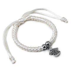 Ivory bracelet with angel