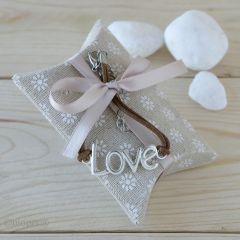 Bracelet LOVE avec boîte 4 bonbons