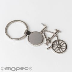 Llavero bicicleta metal 10x4,5cm