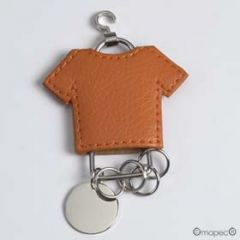 Porte-clés multiple t-shirt orange PRIX DOUX