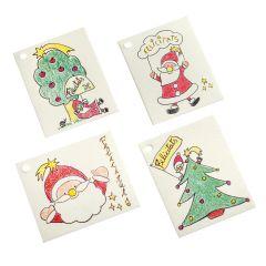 Tarjetas navideñas 8x6,5cm. disponibles en varios idiomas