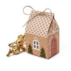 Cajita 3 croki-choc casa jengibre  7x10,5x5cm.*