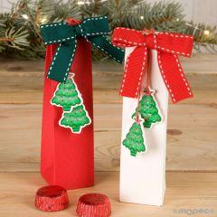 Caja blanca/roja abeto madera 2 torinos min.2*P.GOLOSO