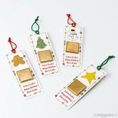 Punto de libro Sweet Christmas 1napolitana 4surtido min.8