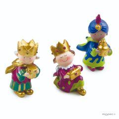 Pit&Pita Three Kings 7cm asstd.
