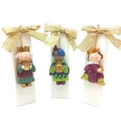 Three Kings Pit&Pita magnet with 3 chocolates