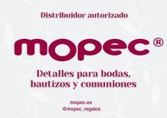 Letrero pequeño Distribuidor Mopec 21x15cm