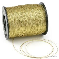 Cordón fino oro 500 metros