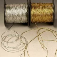 Cordón fino plata 500 metros