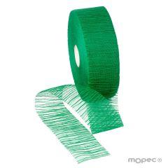 Nastro in garza di cotone 60mmx100m disponibile in rosso o verde