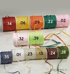 Rafia papel en varios colores para atar 0,4mmx100m