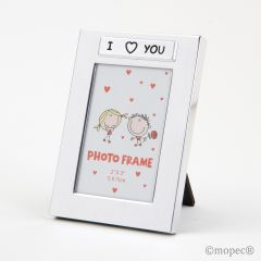 Photo frame I Love You 5x7,5cm.(int) SWEET PRICE