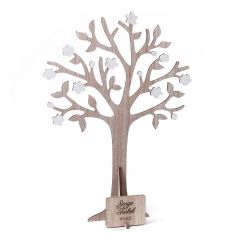 Good wishes and jewerly tree with plate 29x40cm.