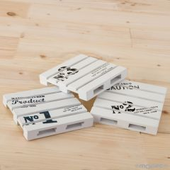 Posavasos palets de madera stdo.10x10cm.min.3