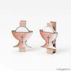 Chalice wooden peg 2,5x3,5cm