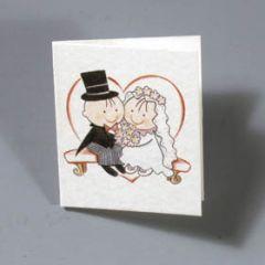 Pit&Pita heart wedding tag price x 100pcs.