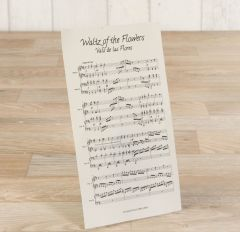 Spartito musicale Waltz of the Flowers 10,5X18,5cm