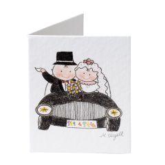 Pit&Pita car wedding tag price x 100pcs.