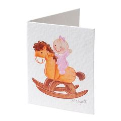 Book card Pita wooden horse price x 100pcs.