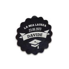 Etichette adesive LA MIA LAUREA 1foglio = 24etich.