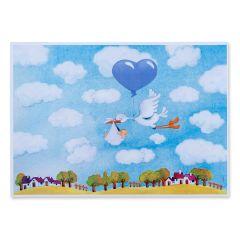 Immagine da inquadrare - palloncino azzurro