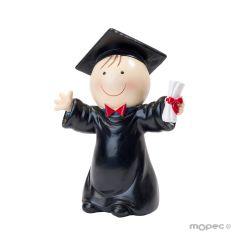 Figura pastel Pit graduado 14cm.