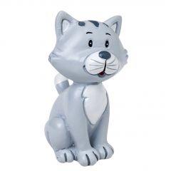Figura poliresina forma gato 5,5cm.