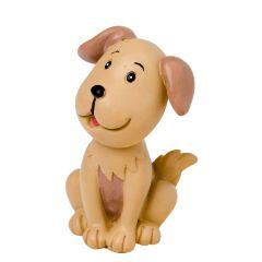 Figura poliresina forma perro 7cm.