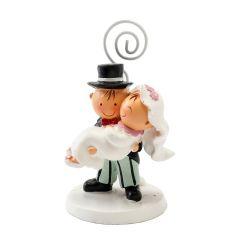 Pit&Pita novia en brazos porta-tarjetas 9,5cm. min6
