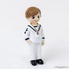 Imán Comunión marinero mano en bolsillo,6,5cm. min.12