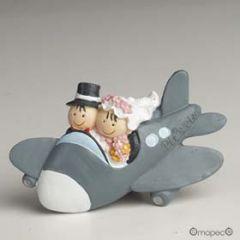 Pit-Pita avión  imán+anilla 7x5cm., min12