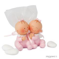 Figura Pita gemelle 3 confetti alla mandorla