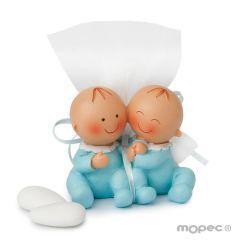 Figura Pit gemelli 3 confetti alla mandorla